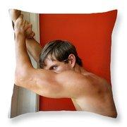 Aware Palm Springs Throw Pillow