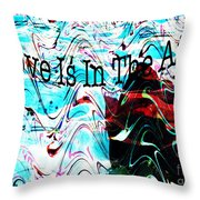 Awareness II Throw Pillow