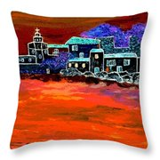 Away From Home Throw Pillow