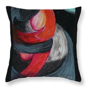 Away From The World Throw Pillow