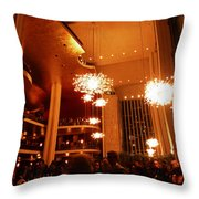Awesome Intermission Throw Pillow by Christine Burdine