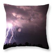 Awesome Strike Throw Pillow