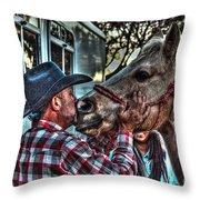 Awww Dixie Throw Pillow