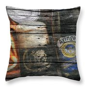 Ayinger Beer Throw Pillow