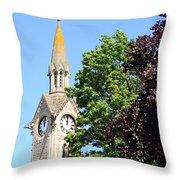 Aylesbury Market Square Throw Pillow