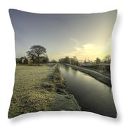 Ayshford Winter  Throw Pillow