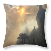 Ayuntamiento Valencia After Mascleta Throw Pillow