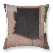 Aza89-538 Lee Ferry Throw Pillow