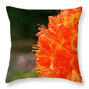 Azalea Profile Throw Pillow