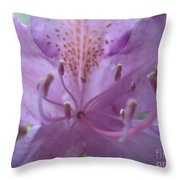 Azalia Macro Throw Pillow