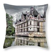 Azay-le-rideau Throw Pillow