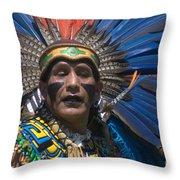 Aztec Dance Throw Pillow