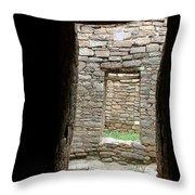 Aztec Doorway Throw Pillow
