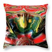Aztec Influence Throw Pillow
