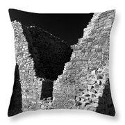 Aztec Moon Throw Pillow