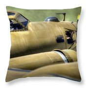 B-17 Throw Pillow