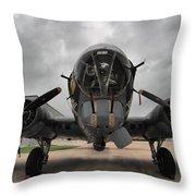 B-17 Dreams Throw Pillow