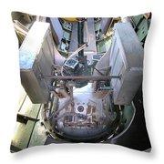 B-17 Gunner Positions Throw Pillow