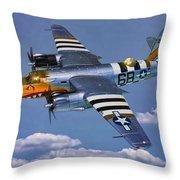 B-26b Marauder Throw Pillow