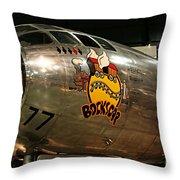 B-29 Bockscar Throw Pillow