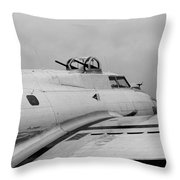 B17 Bomber Throw Pillow