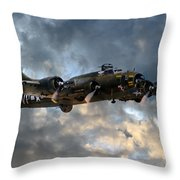 B17 Tribute Throw Pillow