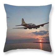B17  Westward Ho Throw Pillow