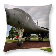 B1b Lancer Throw Pillow