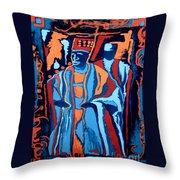 Baba O'loja Throw Pillow