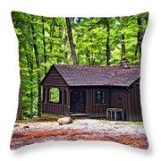 Babcock Cabin Throw Pillow
