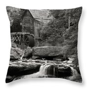 Babcock Grist Mill No. 1 Throw Pillow