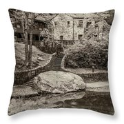 Babcock Sepia  Throw Pillow