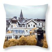 Baburizza Palace Throw Pillow