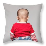 Baby Back Throw Pillow