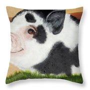 Baby Bacon Throw Pillow