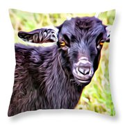 Baby Billy Throw Pillow