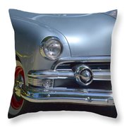 Baby Blue Ford Throw Pillow