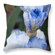 Baby Blue Throw Pillow