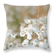 Baby Breath- Special Day Throw Pillow
