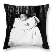 Baby, C1899 Throw Pillow