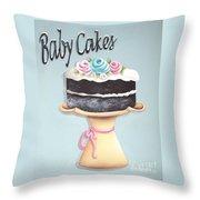 Baby Cakes Throw Pillow