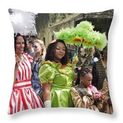 Baby Dolls Throw Pillow