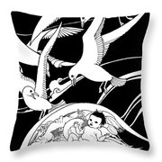 Baby Dreamworld  Throw Pillow