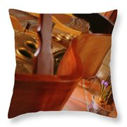 Baby Grand Throw Pillow by Mike McGlothlen