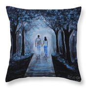 Baby I'm Yours Throw Pillow