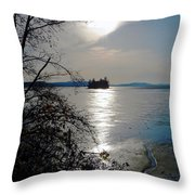 Baby Island Throw Pillow