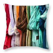 Baby It's Cold Outside By Diana Sainz Throw Pillow