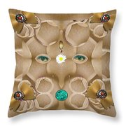 Baby Lord Ganesha Throw Pillow