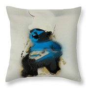 Baby Smurf Throw Pillow