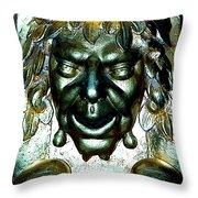 Bacchus Throw Pillow